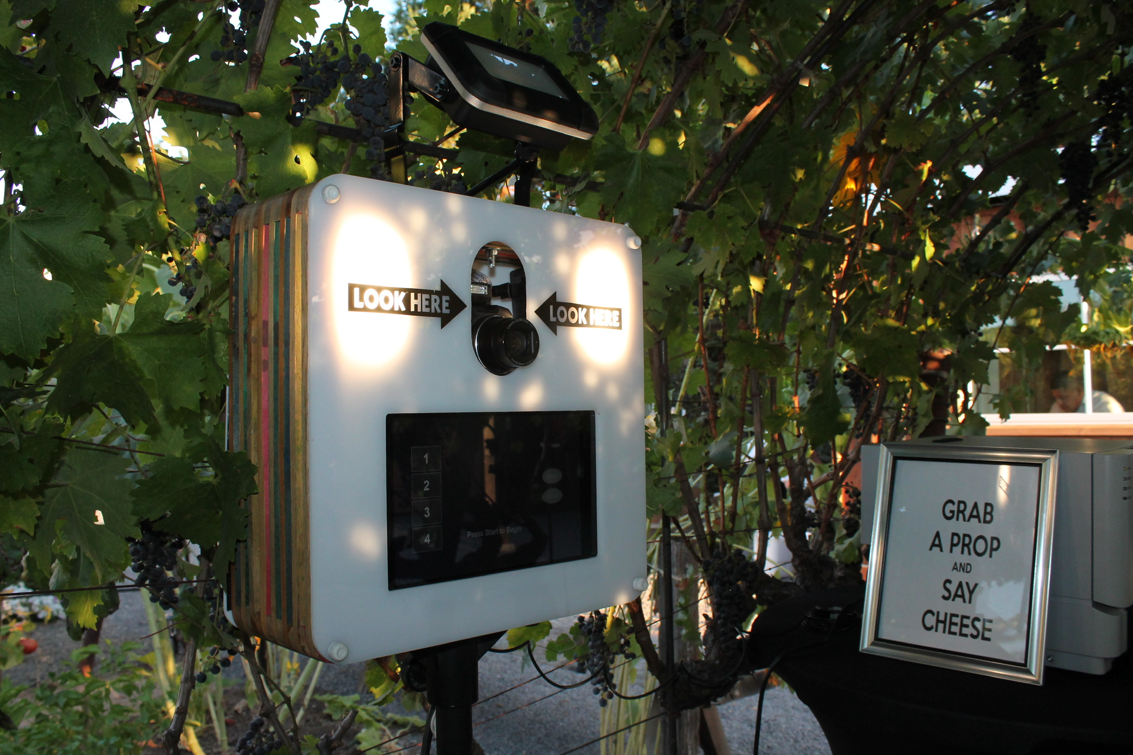DJ and Photo Booth Rental Wine Country